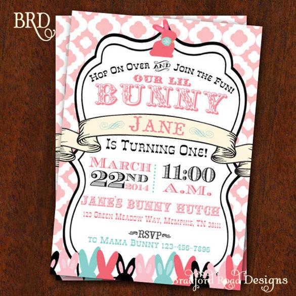 32+ Easter Invitation Templates \u2013 Free Sample, Example, Format - easter invitations template