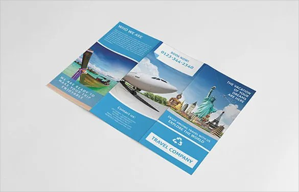 travel brochure templates free - Funfpandroid - Vacation Brochure Template