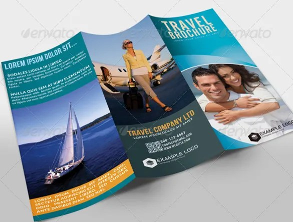 Travel Brochure New York Travel Brochure Customize Travel Brochure - Vacation Brochure Template