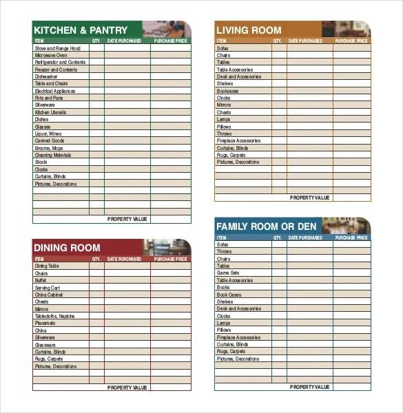 Sample Inventory List - 30+ Free Word, Excel, PDF Documents Download