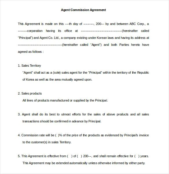 Supplier Agreement Contract Template | Create Professional Resumes