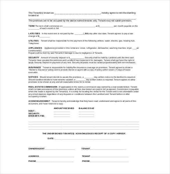 Legal Agreement Template \u2013 9+ Free Word, PDF Documents Download