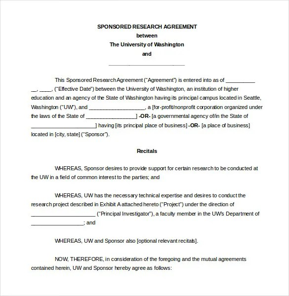Legal Agreement Template \u2013 10+ Free Word, PDF Documents Download