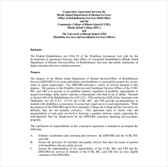 Agreement Letter Between Two Parties Doc – Investment Agreement Doc