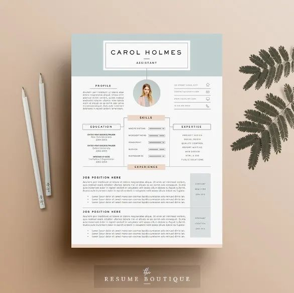 professional cv design doc