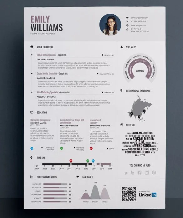 graphic resume templates - Goalgoodwinmetals - resume design sample