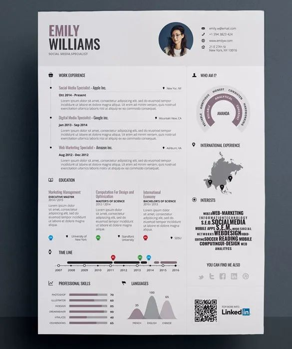 simple professional resume examples