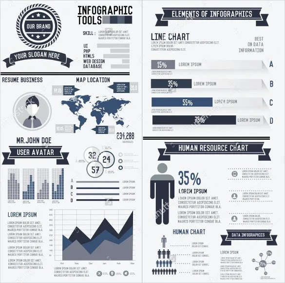33+ Infographic Resume Templates - Free Sample, Example, Format - infographic resumes