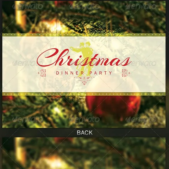 Get Together Invitation Template - 21+ Free PSD, PDF Formats - christmas luncheon flyer