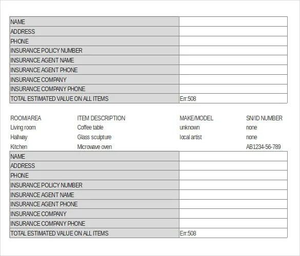 17+ Stock Inventory Control Templates - PDF, DOC Free  Premium