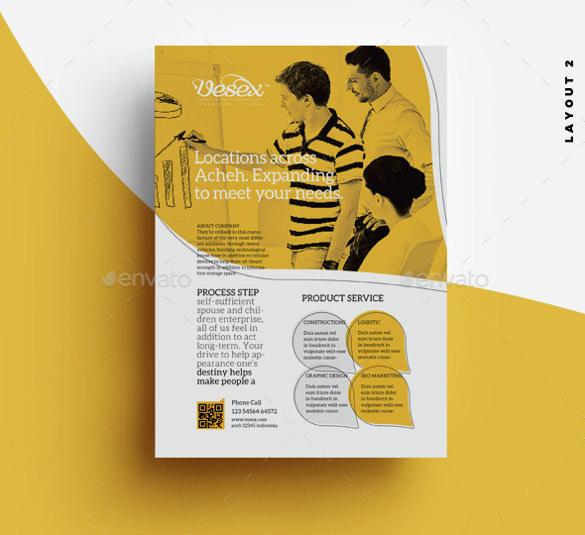 Elegant Flyer Templates \u2013 63+ Free PSD Format Download Free