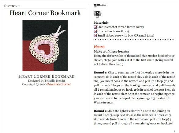 Corner Bookmark Template \u2013 21+ Free PSD, AI, EPS, PDF Format - bookmark size