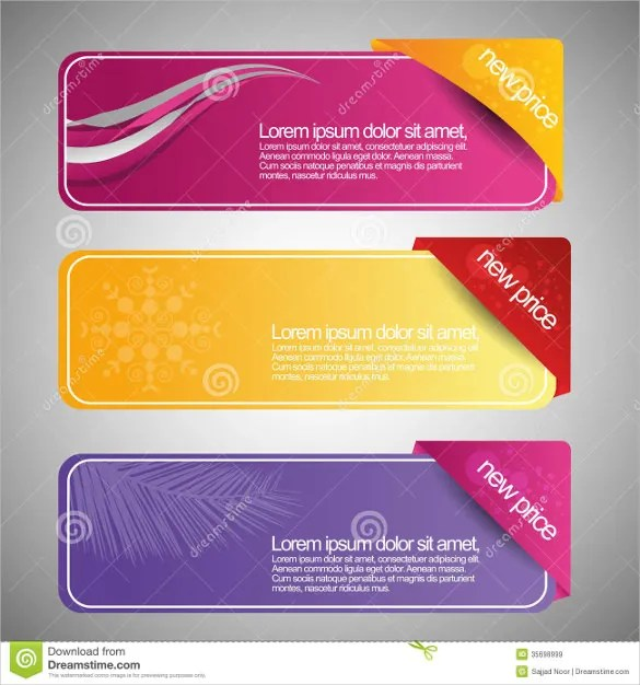 18+ Free Banner Templates \u2013 Free Sample, Example, Format Download