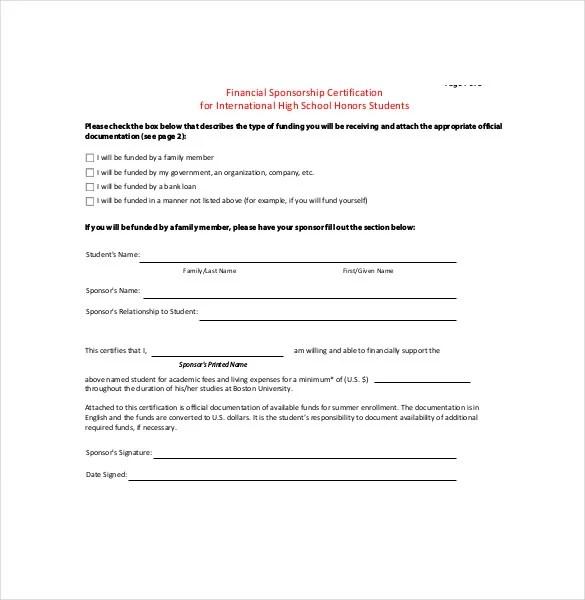 Sponsorship Agreement Template \u2013 10+ Free Word, PDF Documents - athlete sponsorship contract