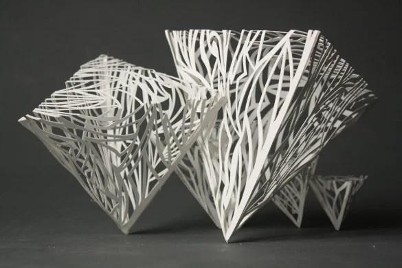 20 Beautiful 3d Paper Sculpture Deas Free Psd Vector
