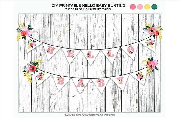 20+ Baby Shower Banner Templates \u2013 Free Sample, Example, Format