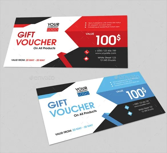 Gift Voucher Examples – Wording for Gift Vouchers Template