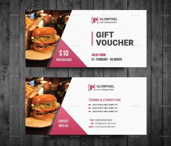 51+ Gift Voucher Templates - Free Sample, Example Format Download - food voucher template
