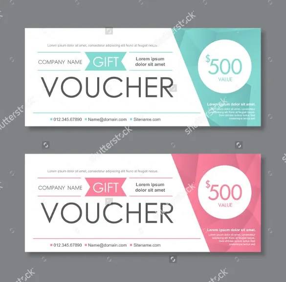51+ Gift Voucher Templates - Free Sample, Example Format Download - gift certificate with stub