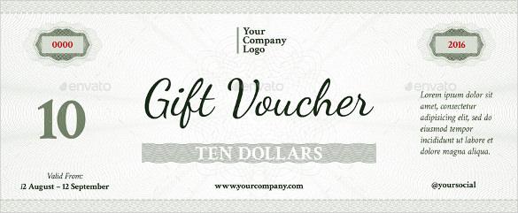 49+ Gift Voucher Templates - PSD, AI, Word Free  Premium Templates