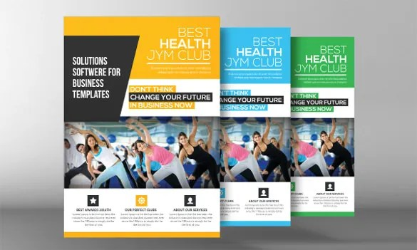 Fitness Flyer Template - 29+ Free PSD Format Download Free