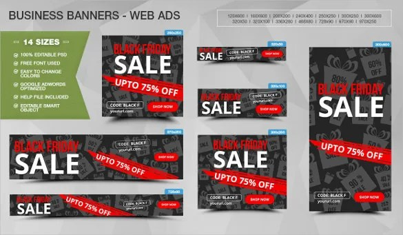 24+ Banner Ad Templates \u2013 Free Sample, Example, Format Download