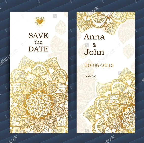 wedding save the date templates free download