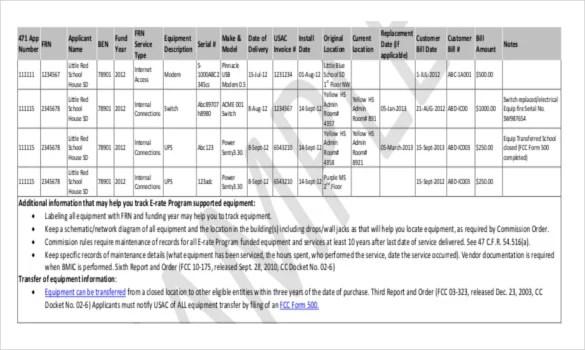 tool inventory list template xv-gimnazija