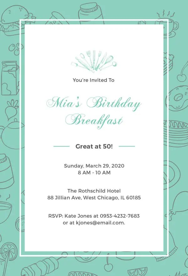 30+ Birthday Invitation Templates - Free PSD, AI, Vector, EPS Format - invitation templates birthday