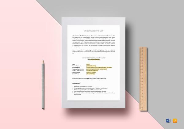 12+ Product Survey Templates \u2013 Free Word, PDF Format Download Free