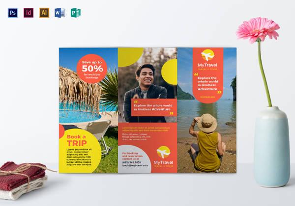 Tri Fold Brochure Templates - 45+ Free Word, PDF, PSD, EPS, InDesign - printable tri fold brochure template