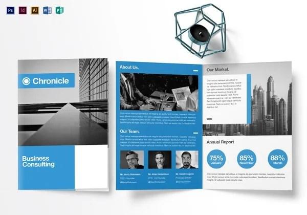 Blank Bi Fold Brochure Templates - 24+ Free PSD, AI, Vector EPS