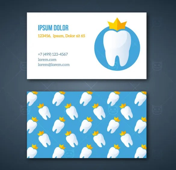 44+Dental Business Card Templates - PSD, Word, AI Free  Premium