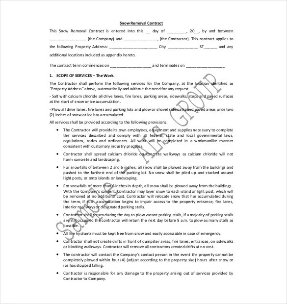 Sears Service Contract Agreement  Create Professional Resumes