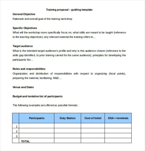 Price Proposal Template Sample Quotation Proposal Lawn-Service - sample training quotation