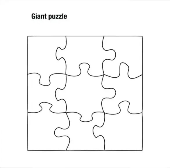 Puzzle Piece Template 19+ Free PSD, PNG, PDF Formats Download Free