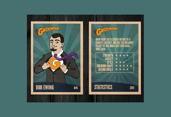 33+ Trading Card Template - Word, PDF, PSD, EPS Free  Premium