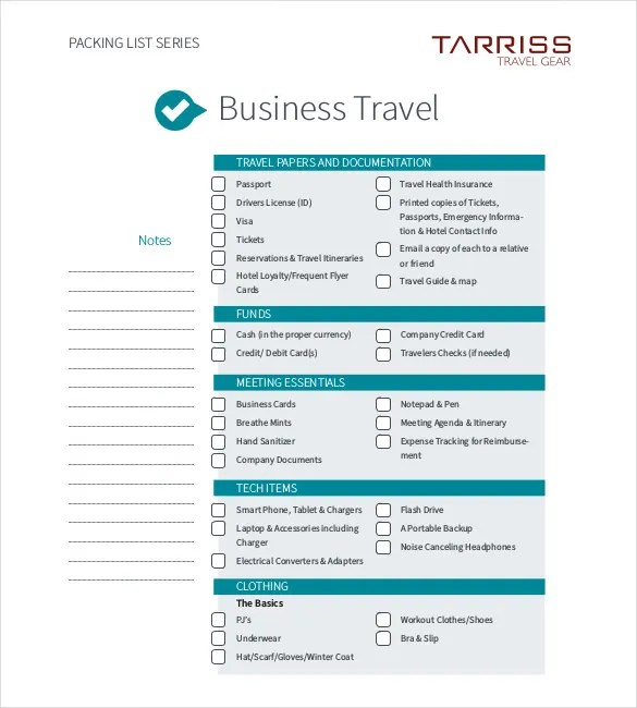 13+ Business Travel Itinerary Template - Word, Excle, PDF Free