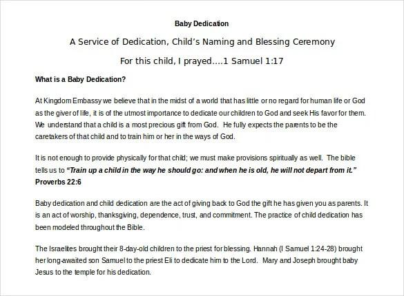 Baby Dedication Certificate Template u2013 19+ Free Word, PDF - certificate template doc