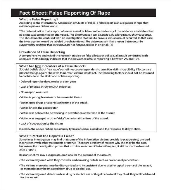 17+ Sample Police Report Templates - PDF, DOC Free  Premium Templates - mock police report