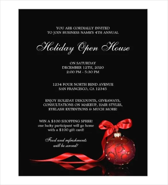 42+ Open House Flyer Templates - Word, PSD, AI, EPS Vector Free