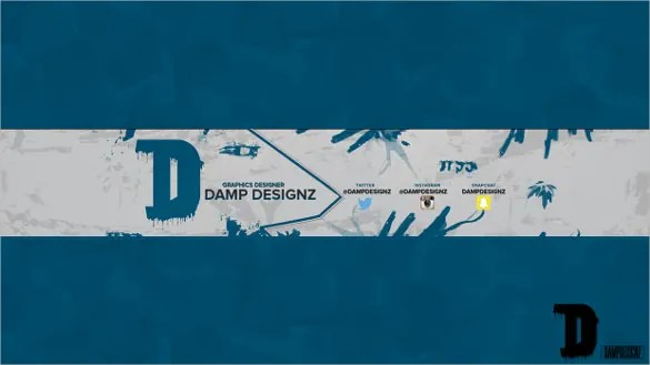 Simple Youtube Banner Template \u2013 19+ Free PSD, AI, Vector EPS Format