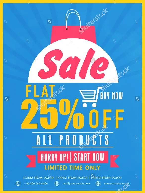 Coupon Flyer Template u2013 21+ Free PSD, AI, Vector EPS Format - discount flyer template