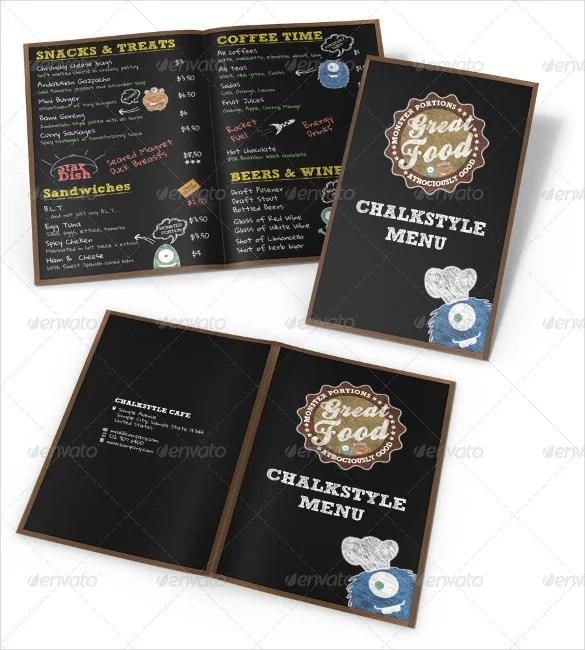 22+ Chalkboard Menu Templates u2013 Free Sample, Example Format - sample chalkboard menu template