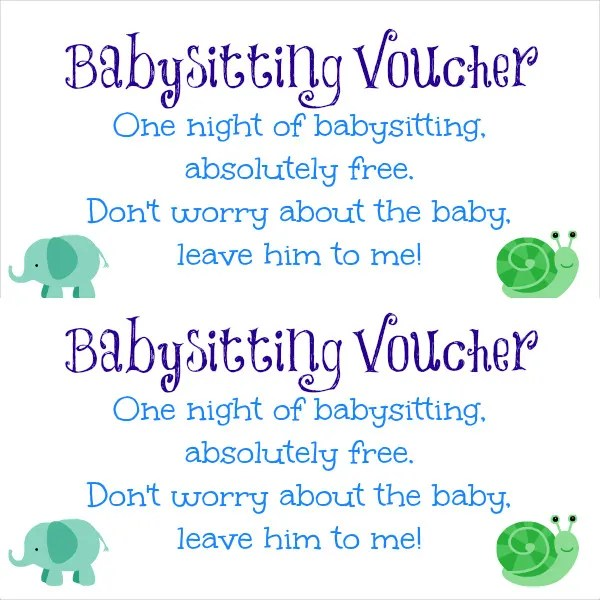 12+ Baby Sitting Coupon Templates - PSD, AI, InDesign, Word Free