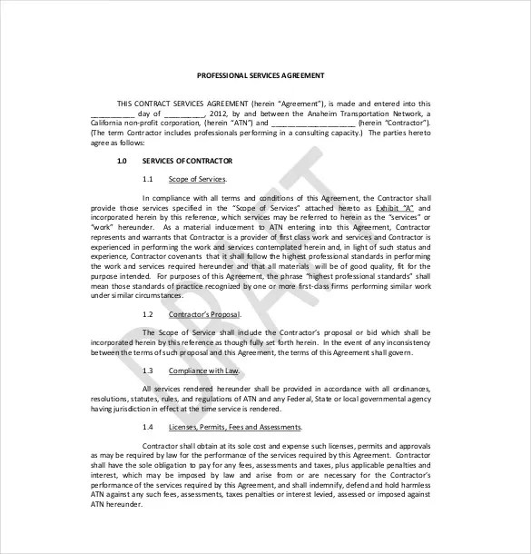 15+ Service Agreement Templatesu2013 Free Sample, Example, Format - sample master service agreement