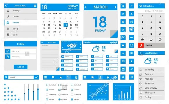 Menu Calendar Templates -10+ Printable, PDF Documents Download