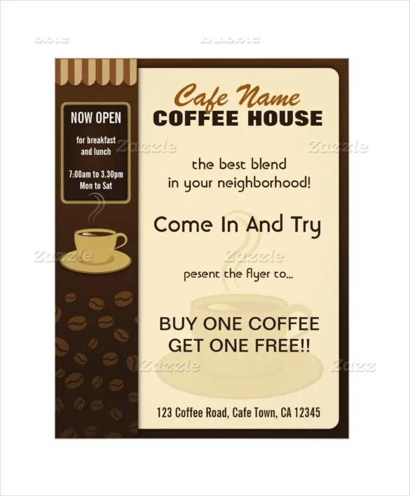 cafe menu template free - Onwebioinnovate