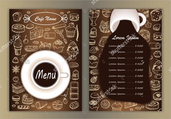 coffee menu template free - Goalgoodwinmetals