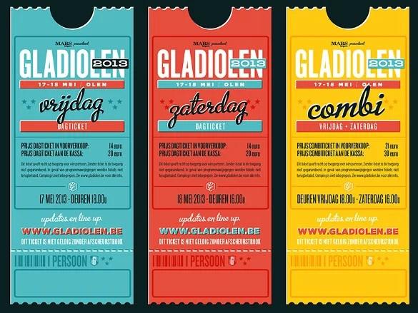 tickets designs - Romeolandinez